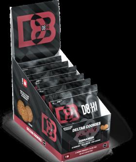 D8HI | Delta 8 Cookies (Box of 6)