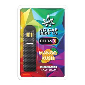 No Cap Hemp | Delta 8 Disposable | 500mg