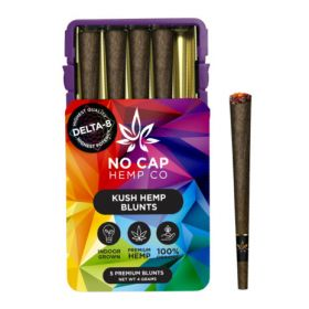 No Cap Hemp | Delta 8 Mini Blunts Tin (5 Pack)