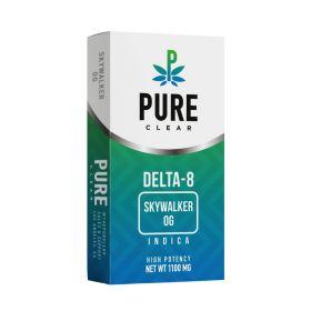 Pure Clear | Delta 8 Cartridge | 1 mL