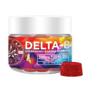 No Cap Hemp | Delta 8 Vegan Gummies | 500 mg