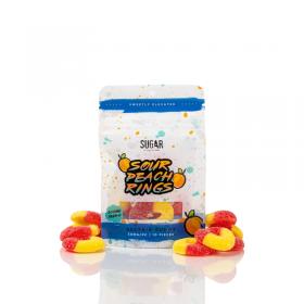 86 Delta 8 | Sugar Delta 8 Peach Rings (10-ct display) | 300mg