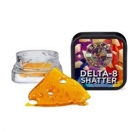 No Cap Hemp | Delta 8 | Shatter | 1g