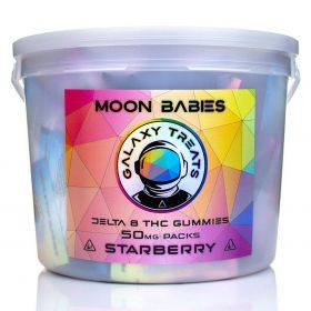 Galaxy Treats | Moon Babies Delta 8 Gummies Bucket (100 Count)