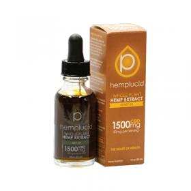 Hemplucid | 30 mL | CBD Full Spectrum Hemp Extract in MCT Oil