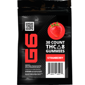 G6 | Delta 8 Gummies | Strawberry