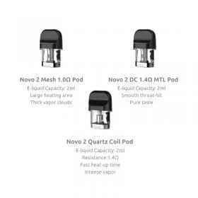 Smok   Novo 2 and Novo 3 Pods