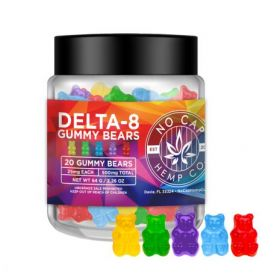No Cap Hemp | Delta 8 Gummy Bears