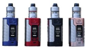 Wismec | Sinuous FJ200 and Divider Sub-Ohm Tank Starter Kit